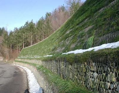 道路防护工程--石笼网