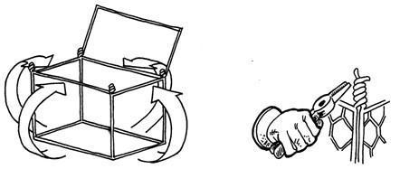 格宾石笼网箱组装绑扎