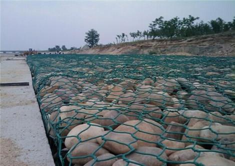 绿滨垫填充鹅卵石