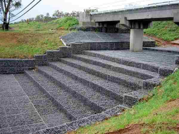 桥墩防护宾格石笼